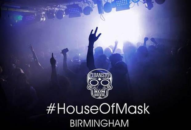 Birmingham will host this year's second House of Mask by Cubanisto event on 29 May
