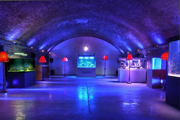 Located on Stean Street this aquarium is a unique venue to host an event
