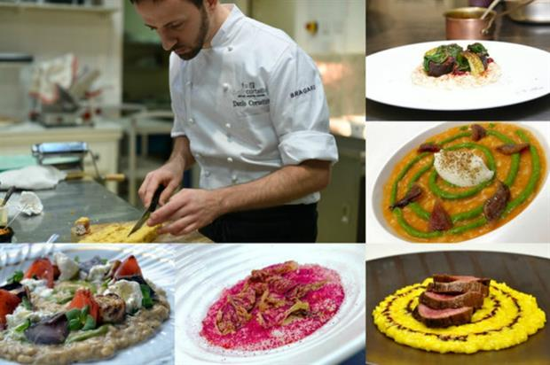 Danilo Cortellini will cook up dishes where risotto is the main star