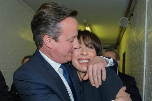 David Cameron's Conservatives win the 2015 General Election (@David_Cameron)