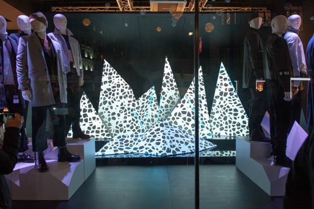 New technology means projections can be created that are bright enough to stand out in daylight
