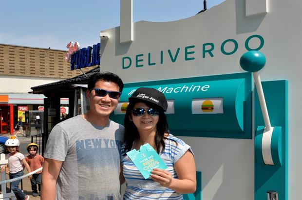 Deliveroo partnered with Barclaycard British Summer Time at London's Hyde Park