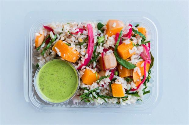 The Detox Kitchen has two London delis and lots of healthy salads (pic credit: @TheDetoxKitchen/Twitter)