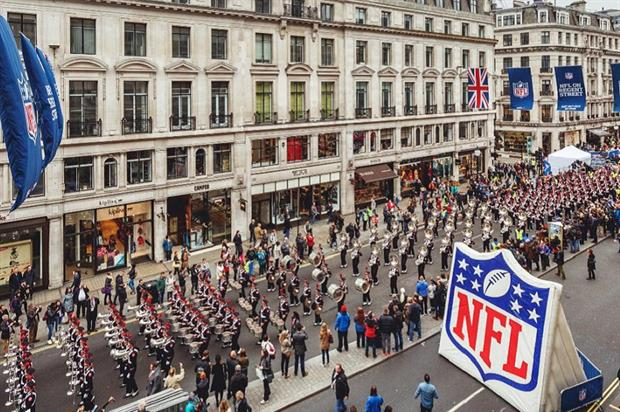 Weekender: NFL on Regent Street, Merge Festival, Paris Motor Show