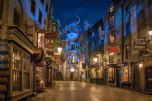 The Orlando resort is celebrating its Diagon Alley attraction's first birthday (Universal Orlando Resort)