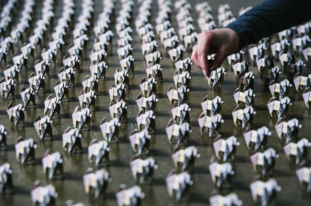 Origami dogs to hit the streets of Bristol