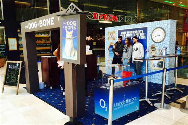 The Dog & Bone dishes out beer samples and features an interactive game