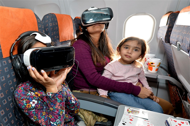 Unicef and easyjet launch VR experience to fight polio