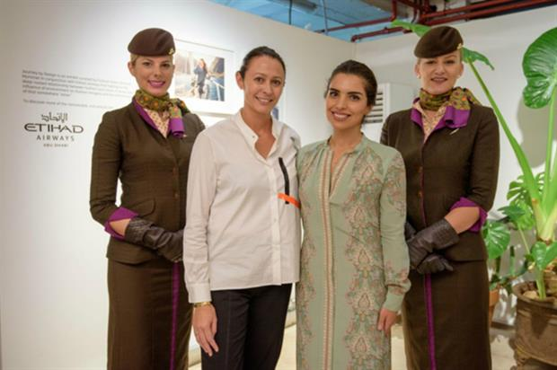 Etihad Airways: collaboration with London Fashion Week