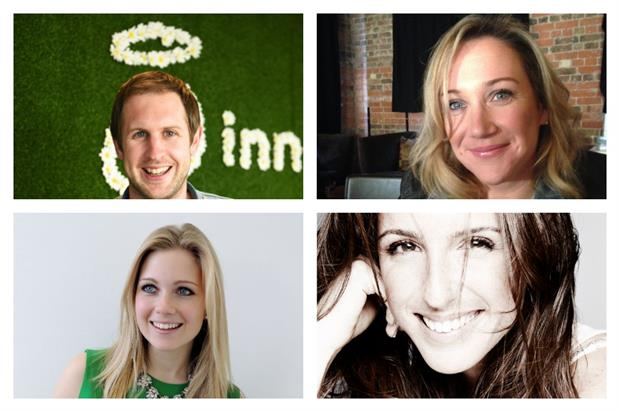 Event Awards: Innocent's Jamie Sterry, L'Oréal's Alison Williams, Paragon's Megan Collins and Sony's Melissa Noakes