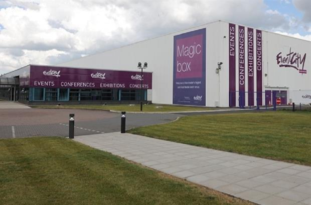 EventCity in Manchester hosts the event