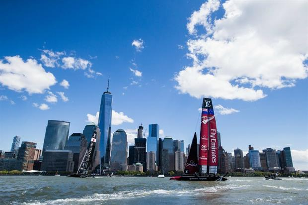 The Americas Cup in New York attracted around 175,000 people this year