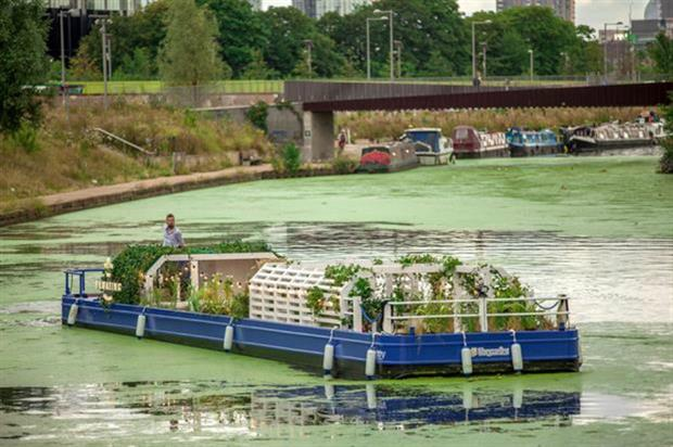 Hoegaarden: Its Floating Gaardens showed the brand story