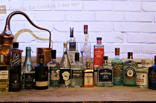 Audemus Spirits and Martin Millers compete in Gin Off