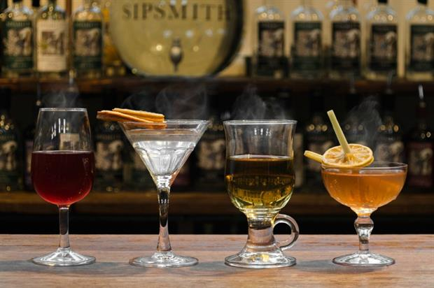 The Sipsmith pop-up will be open from 26 January to 14 February