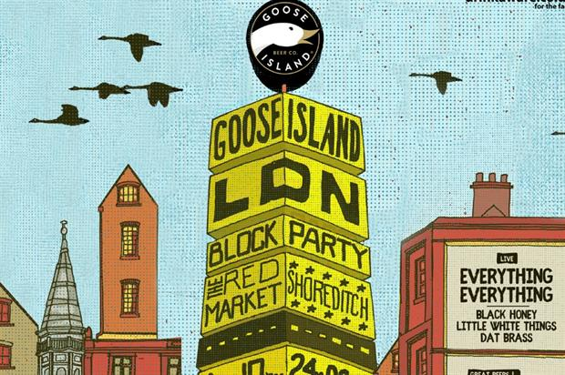 Goose Island Block Party, South African Tourism pop-up, Philharmonia VR experience