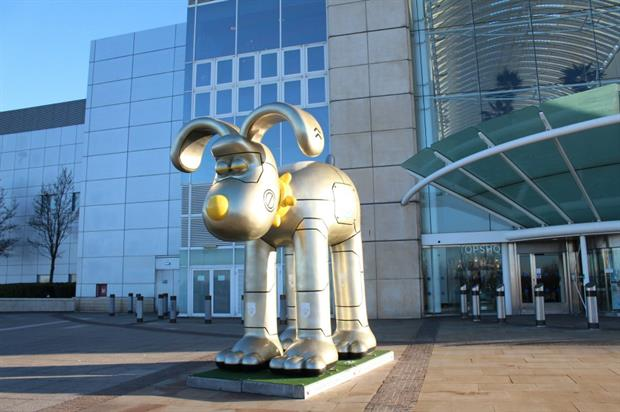 The giant Gromit sculpture was first unveiled in Hong Kong
