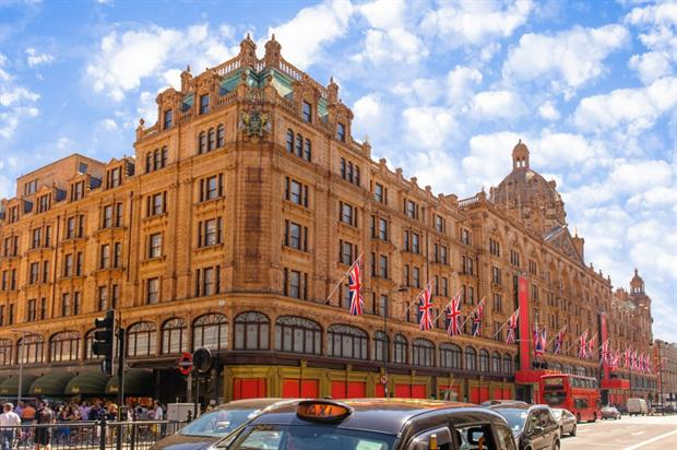 Harrods: winter sale activations