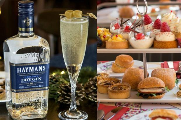 Hayman's Gin: afternoon tea experience