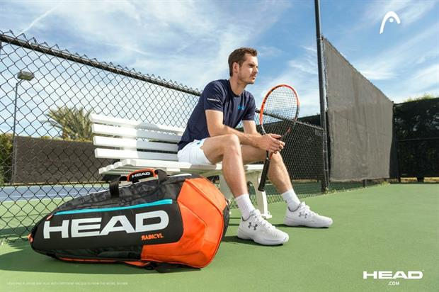 The event will launch the Head Graphene XT Radical tennis racquet