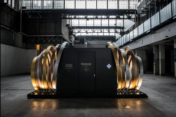 Hennessy will unveil its Time Barrel in St Pancras station