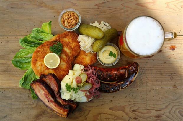 Herman Ze German: Oktoberfest activation features meat and beer