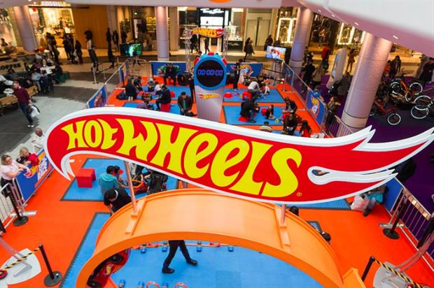 Hot Wheels' 'Epic Race' brand activation