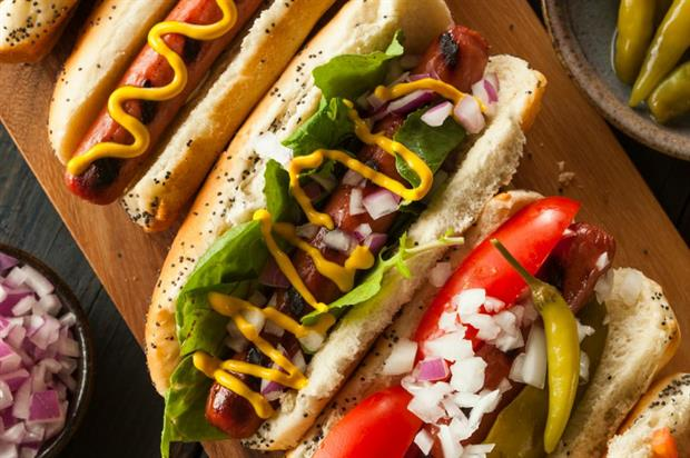 Hot dogs are the latest dude food to hit the gourmet scene (iStock)