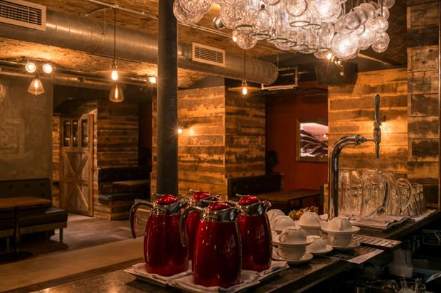 Located on Heddon Street, the bar offers a cold sensory experience