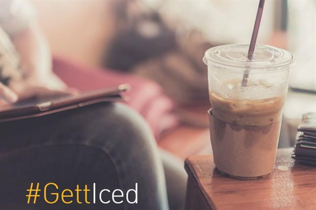 The iced coffee delivery will cost users £1