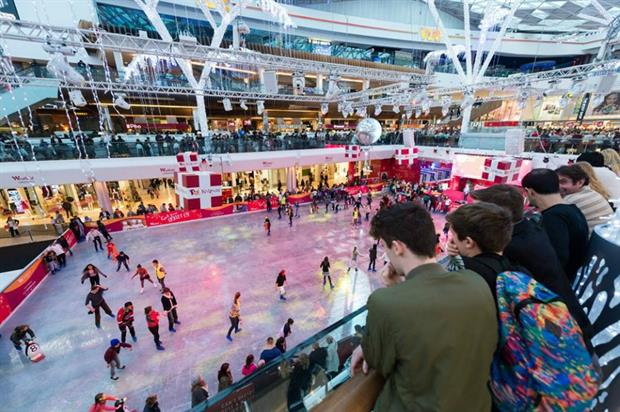 American Eagle will provide clothing for skaters and ice marshals (Westfield London)