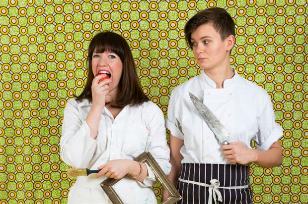 Alice Hodge and Ellen Parr's latest Art of Dining experience is inspired by the industrial revolution