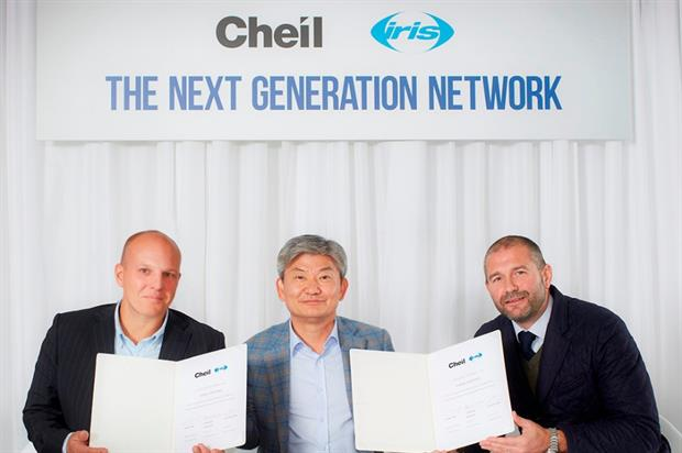 Cheil Worldwide inks deal with Iris