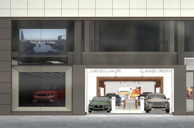 Jaguar Land Rover to launch digital store at Westfield Stratford in October