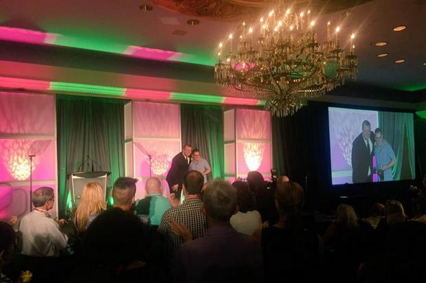 James Morgan picked up the J Robert Graves Pioneer award