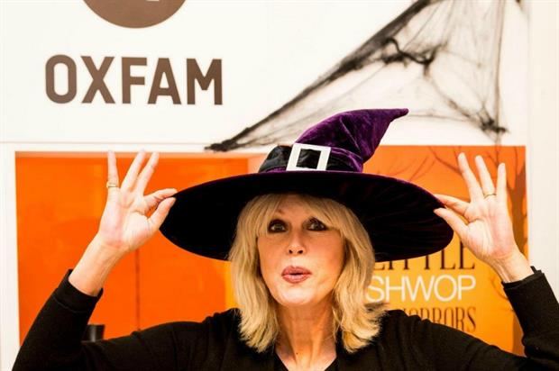 Joanna Lumley opens the Little Shwop of Horrors