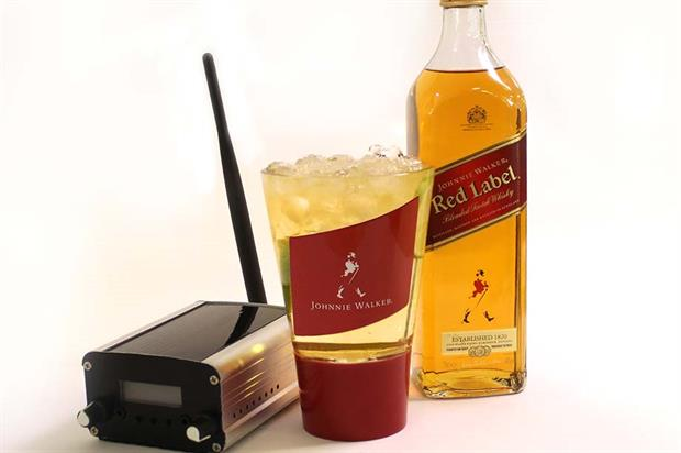 Experiential tech: Diageo's Johnnie Walker Red Label audio glass