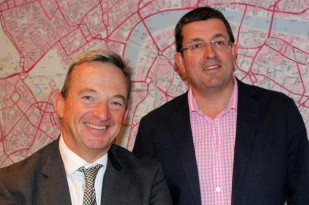 Mike Kershaw (left) joins AOK Events as non-executive chairman