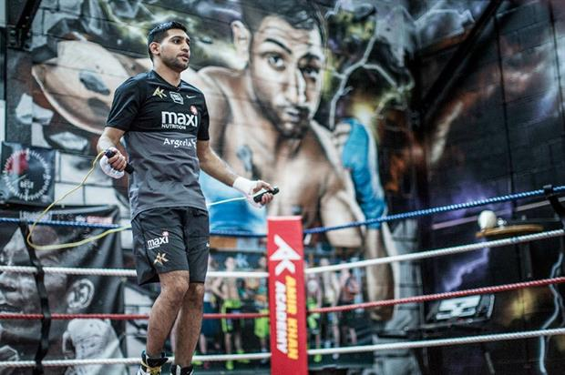 Amir Khan features in the new campaign