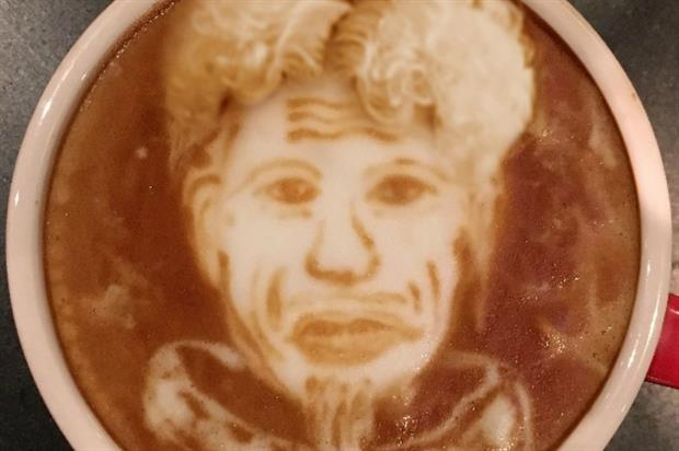 The coffee's name is inspired by Mugatu's outburst in the first Zoolander film