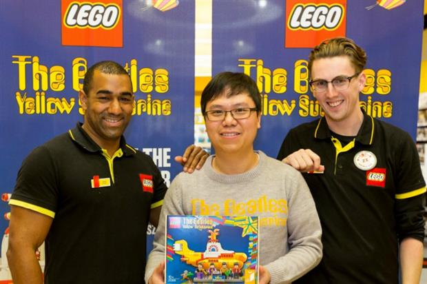 Liverpool's shopping centre Liverpool One welcomes new Lego set