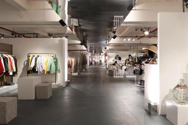 The LFW SS16 designer showrooms at Brewer Street Car Park (@LondonFashionWk)