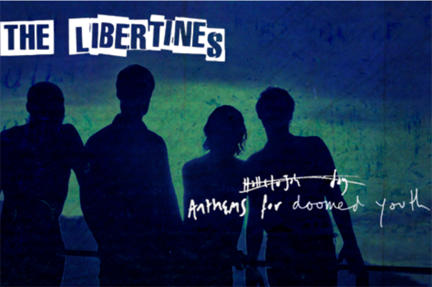 The events will launch The Libertines' Anthems for Doomed Youth (Virgin EMI/The Libertines)