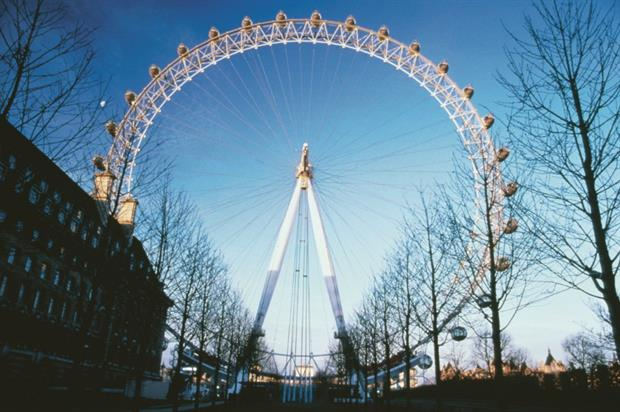 The London Eye has partnered with Bumble for Valentine's Day