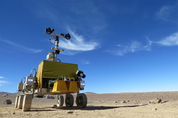The Mars Exploration Rover will feature at the four-day event