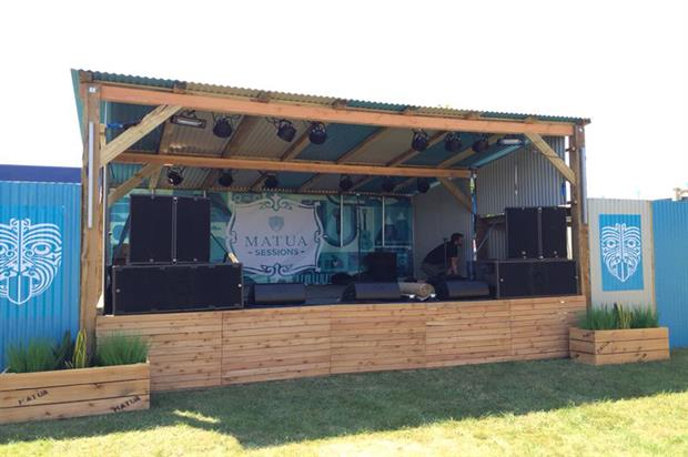 Matua Sessions: eclectic music at Bestival
