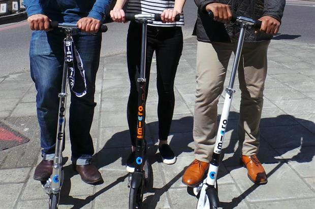 Brand & Deliver wins Micro Scooters account