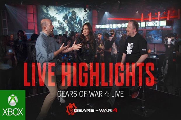 Microsoft Xbox: live stream event