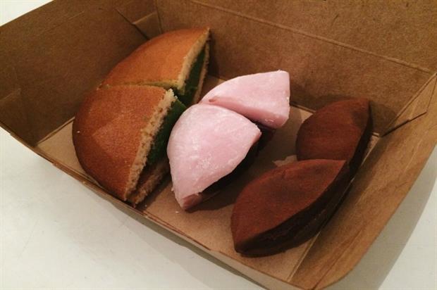 Japanese-style cakes