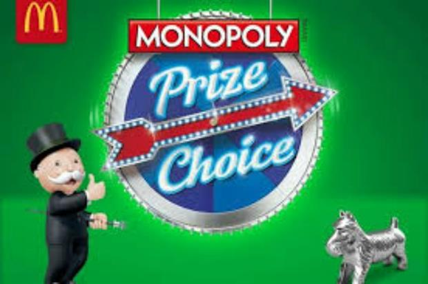 McDonald's and Hasbro: Monopoly action